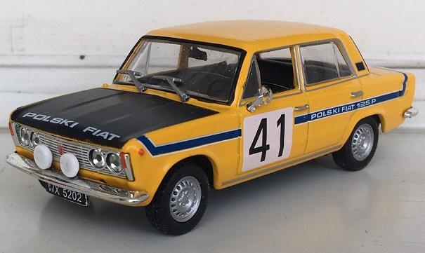 Fiat 125p rally 1